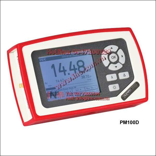 PM100D, Thorlab, Compact Power and Energy Meter Console, Digital 4