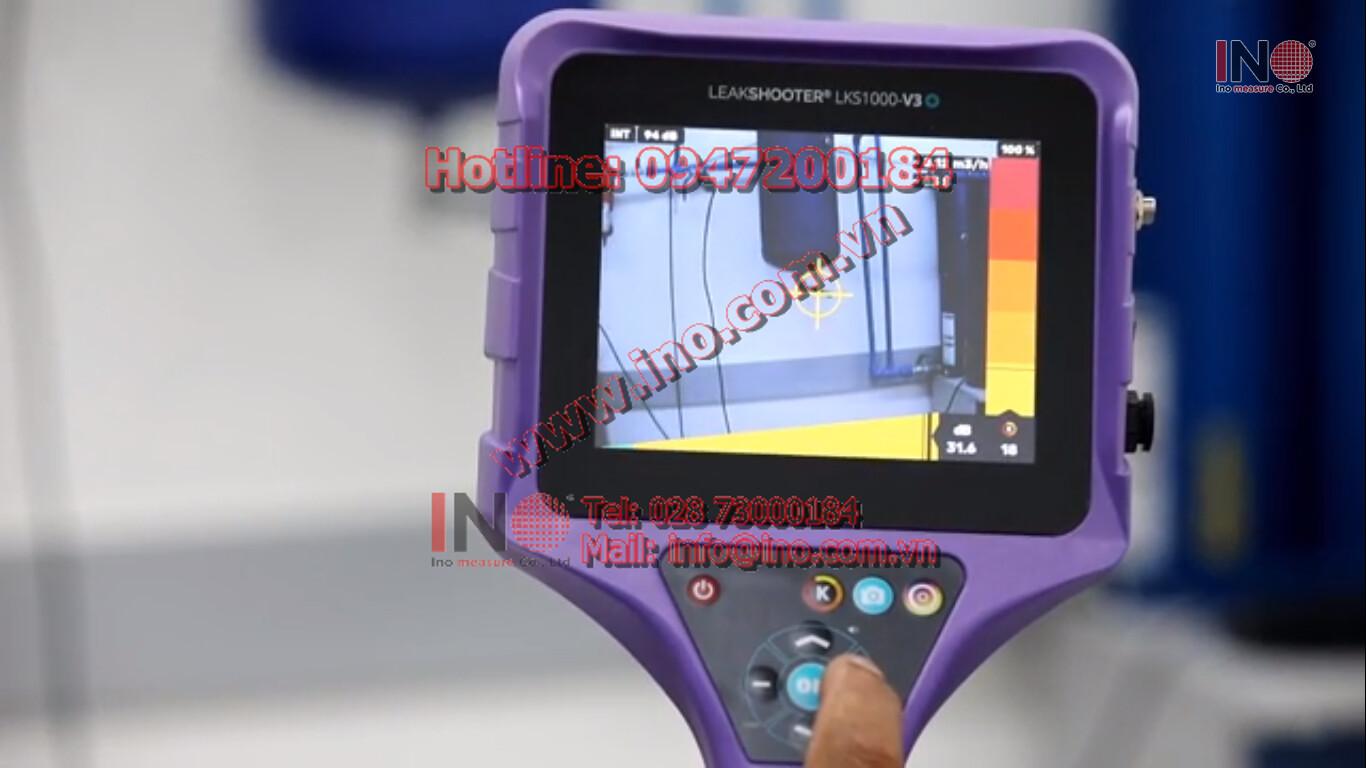 Phát hiện rò rỉ khí nén bằng sóng siêu âm kết hợp với màn hình trực quan giúp kỹ sư bảo trì dễ dàng phát hiện điểm rò. Công ty Ino Measure đang là nhà phân phối độc quyền